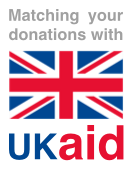 Matching your donations with UKAid